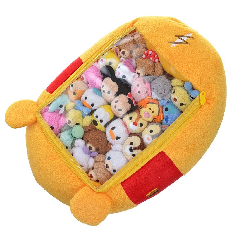 Check Out the New Disney Character Tsum Tsum Storage Plush! | Disney Tsum Tsum #disneycharacters