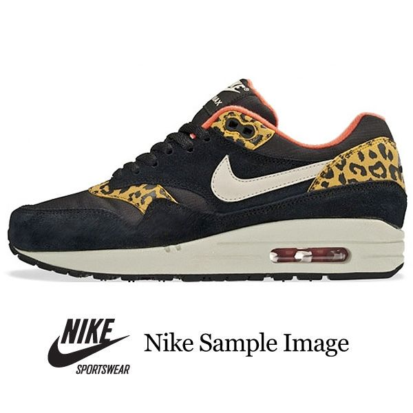 official photos b3e65 0117e Nike Air Max 1 Shoes - Black-Sand Trap-Drk Gld Leopard Pack at Urban  Industry