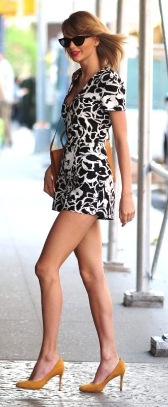 Hot Taylor Swift Girl ♥SSY Sexy Legs                              …