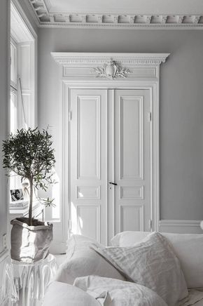 Classy home in black and white Chambre Pinterest Home, Living