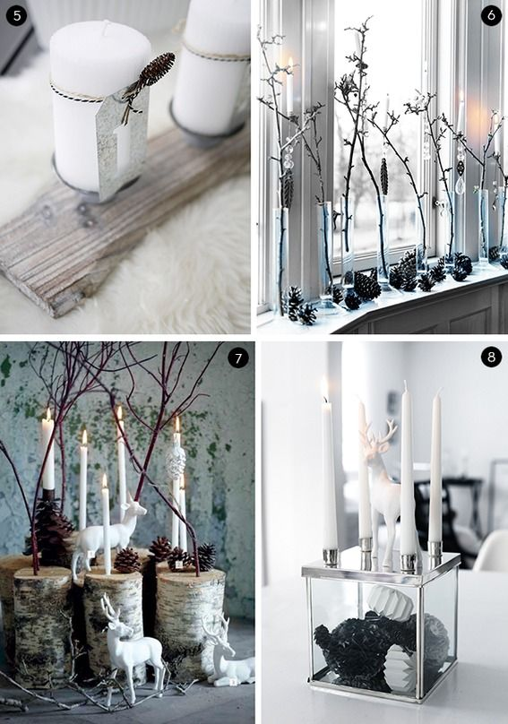 eye candy 40 scandinavian style christmas decor ideas. Black Bedroom Furniture Sets. Home Design Ideas