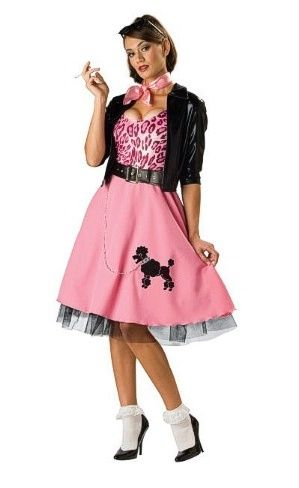 Sexy poodle skirt