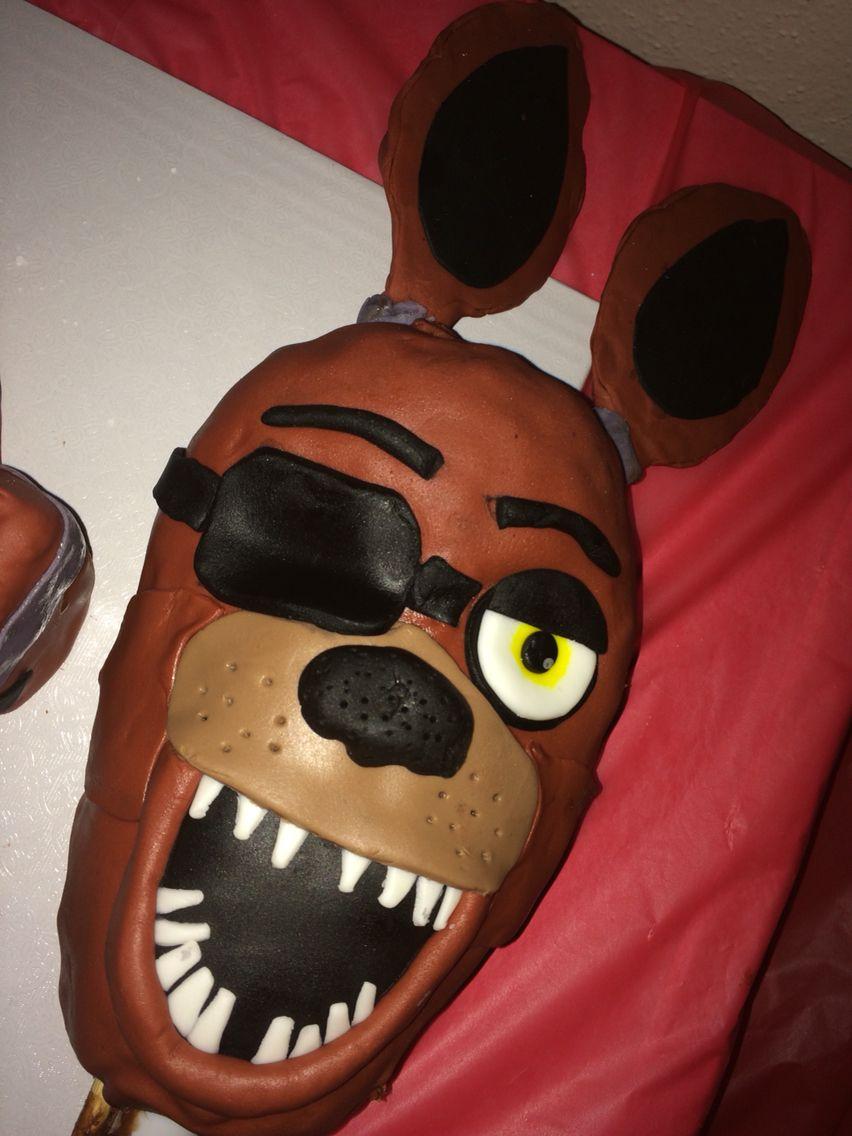 fnafparty dyi fnaf fivenightsatfreddys birthdaycake this is a