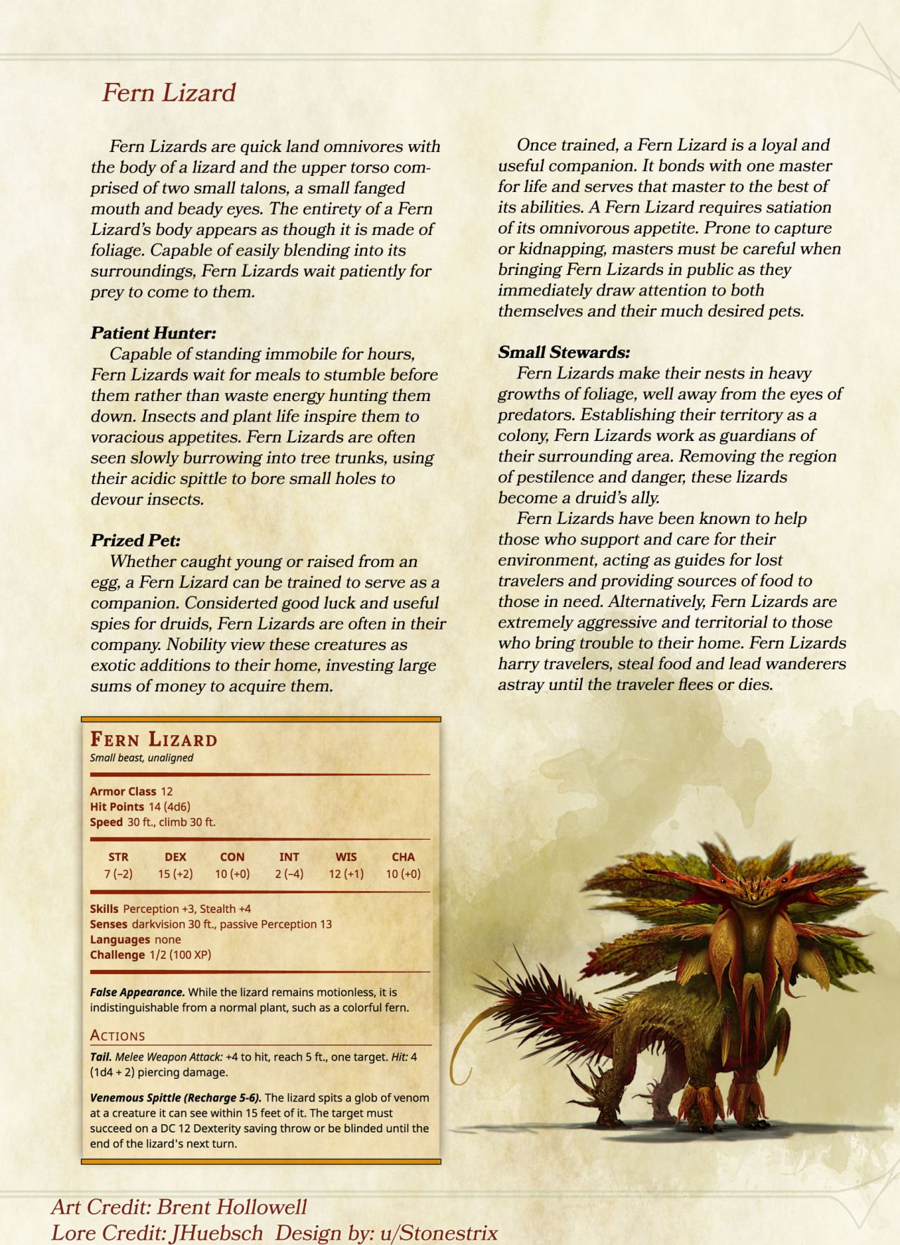 DnD 5e Homebrew — Monsters by Stonestrix | dnd creatures in 2019