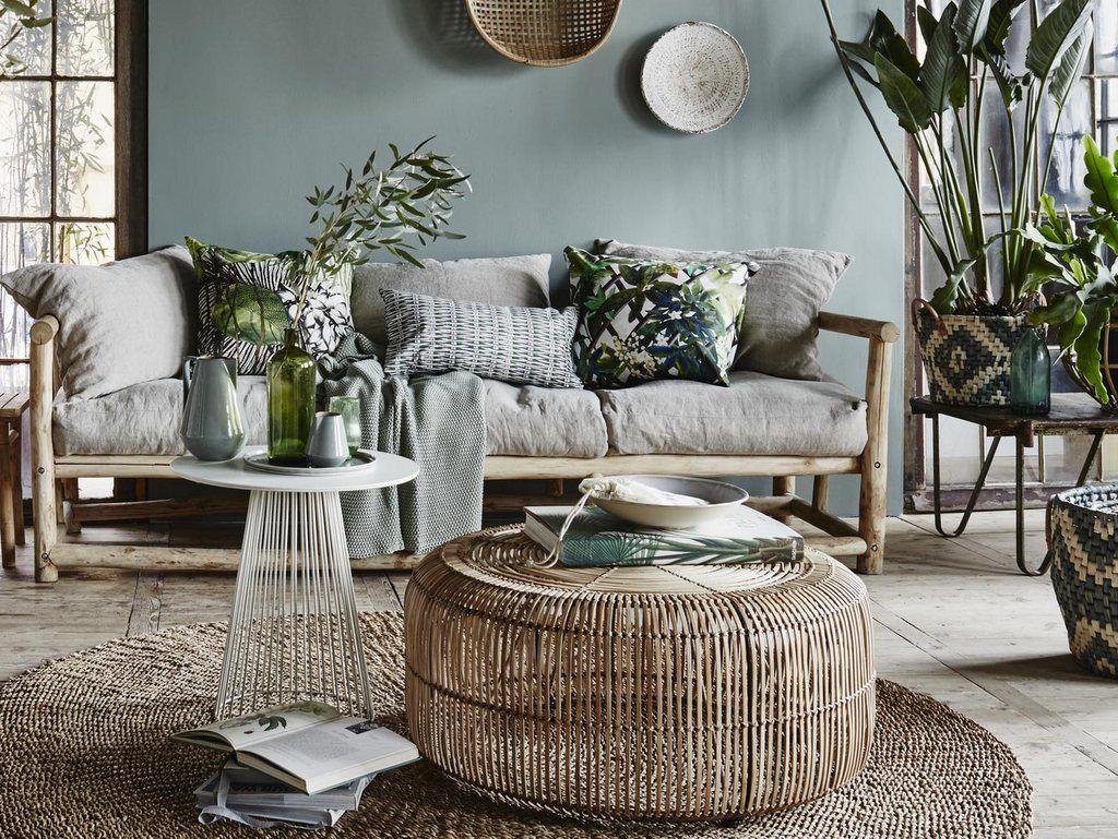 Ou Trouver Une Table Basse En Rotin Ronde Deco Salon Decoration Interieure Deco Maison