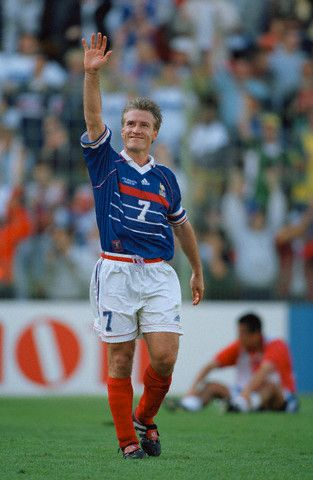 Coupe du monde 1998 france paraguay didier deschamps france 98 pinterest didier deschamps - Joueur coupe du monde 98 ...