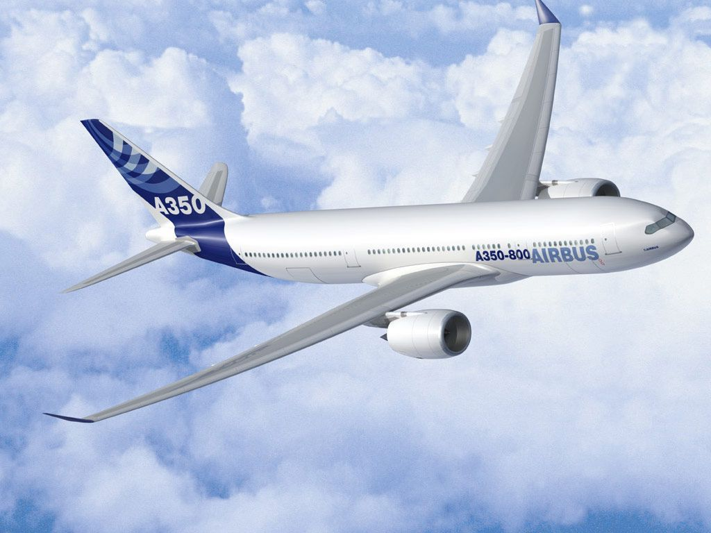 A350 Airbus Airplane Flying wallpaper | Planes@J | Aircraft, Boeing