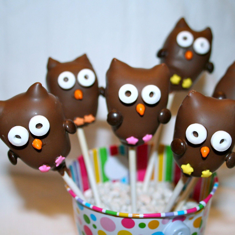 12 Toadstool Mushroom Cake Pops for Woodland by ... |Woodland Cake Balls