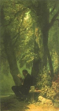 ⍕ Paintings of People & Pets ⍕ Carl Spitzweg | The Favourite Place