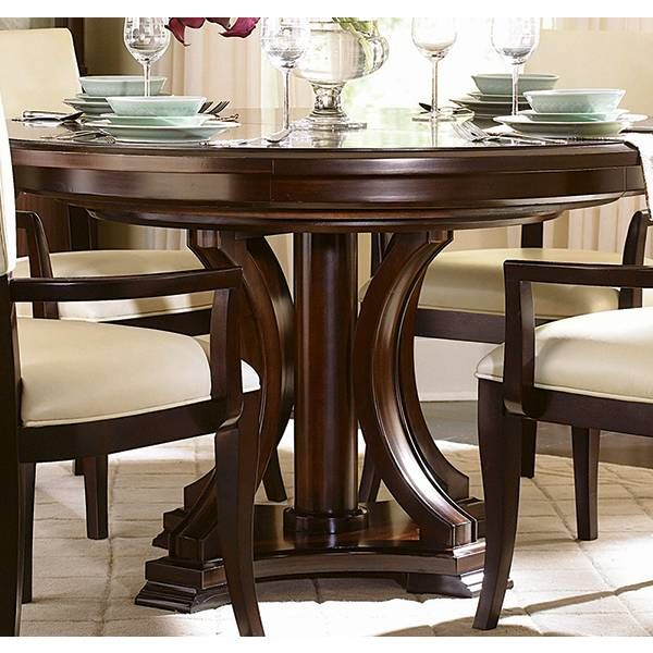 Fine Westwood Round Dining Table Bernhardt Star Furniture Home Interior And Landscaping Ologienasavecom