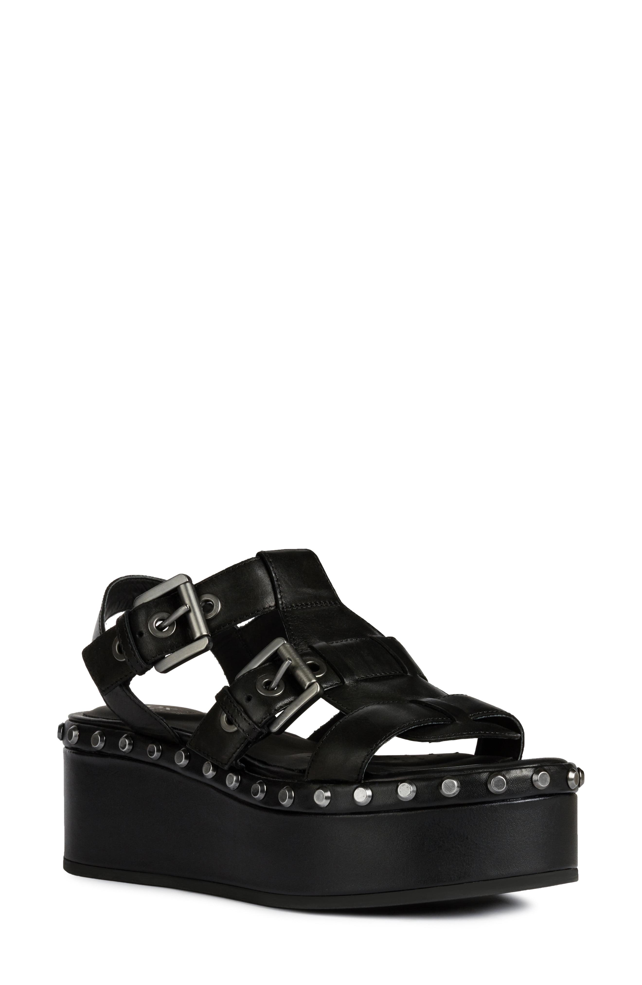 Women's Geox Shakima Platform Sandal, Size 6US 36EU