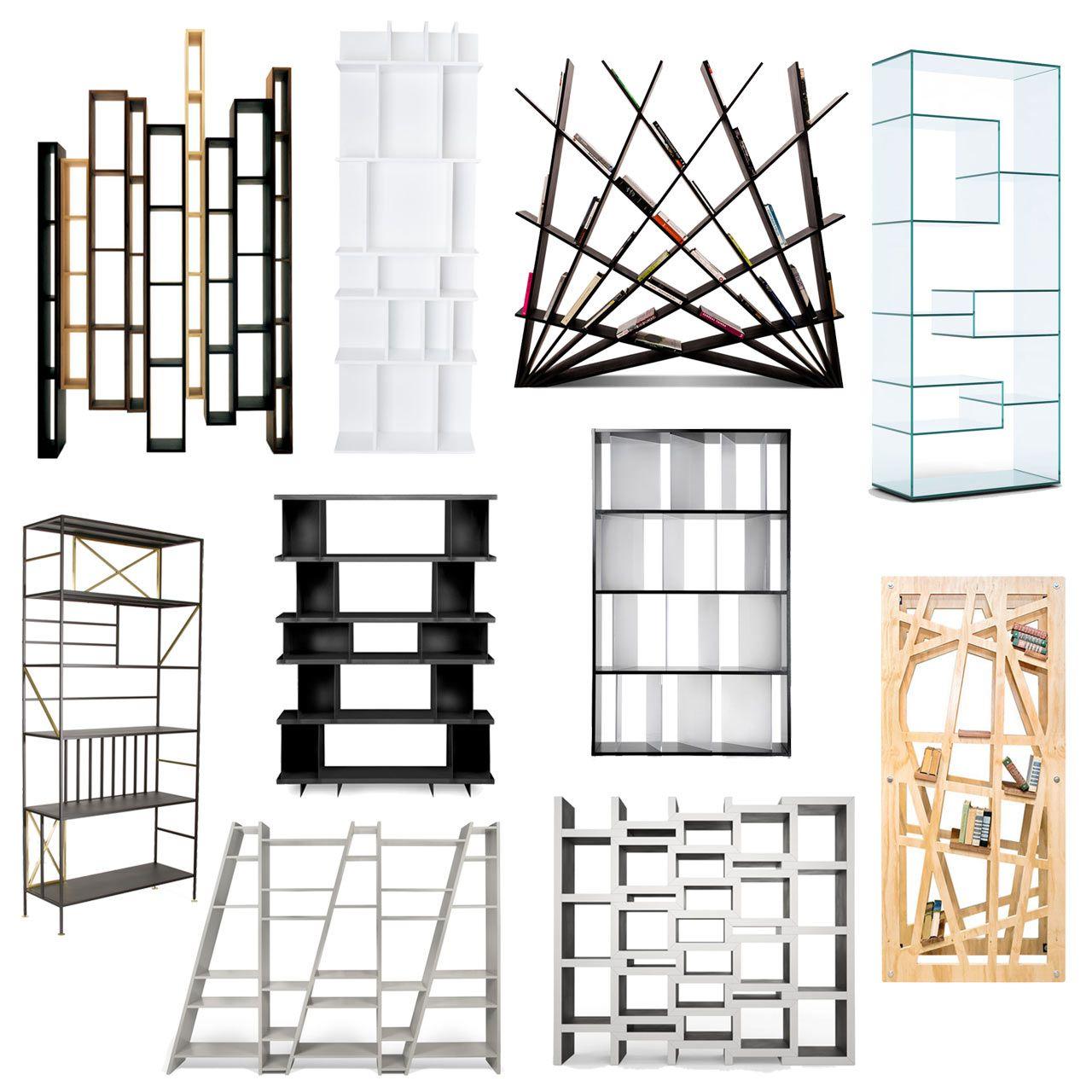 Cool Bookshelves roundup: 10 cool, modern bookshelves | modern bookshelf, modern