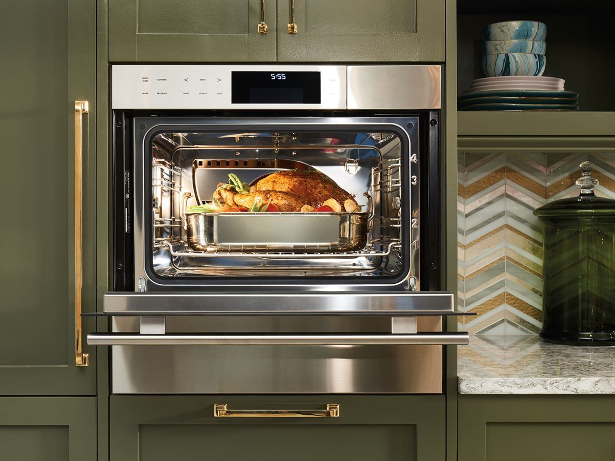 Pin By J Esparza Lowe On Dream Kitchen Kitchen Oven Double Oven Kitchen Steam Oven