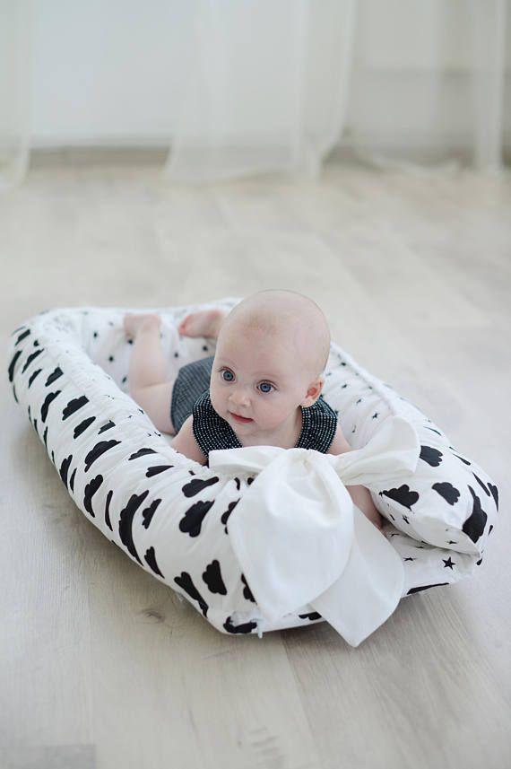 Baby Nest Crib Bedding Baby Gift Baby Shower Baby Boy Bedding