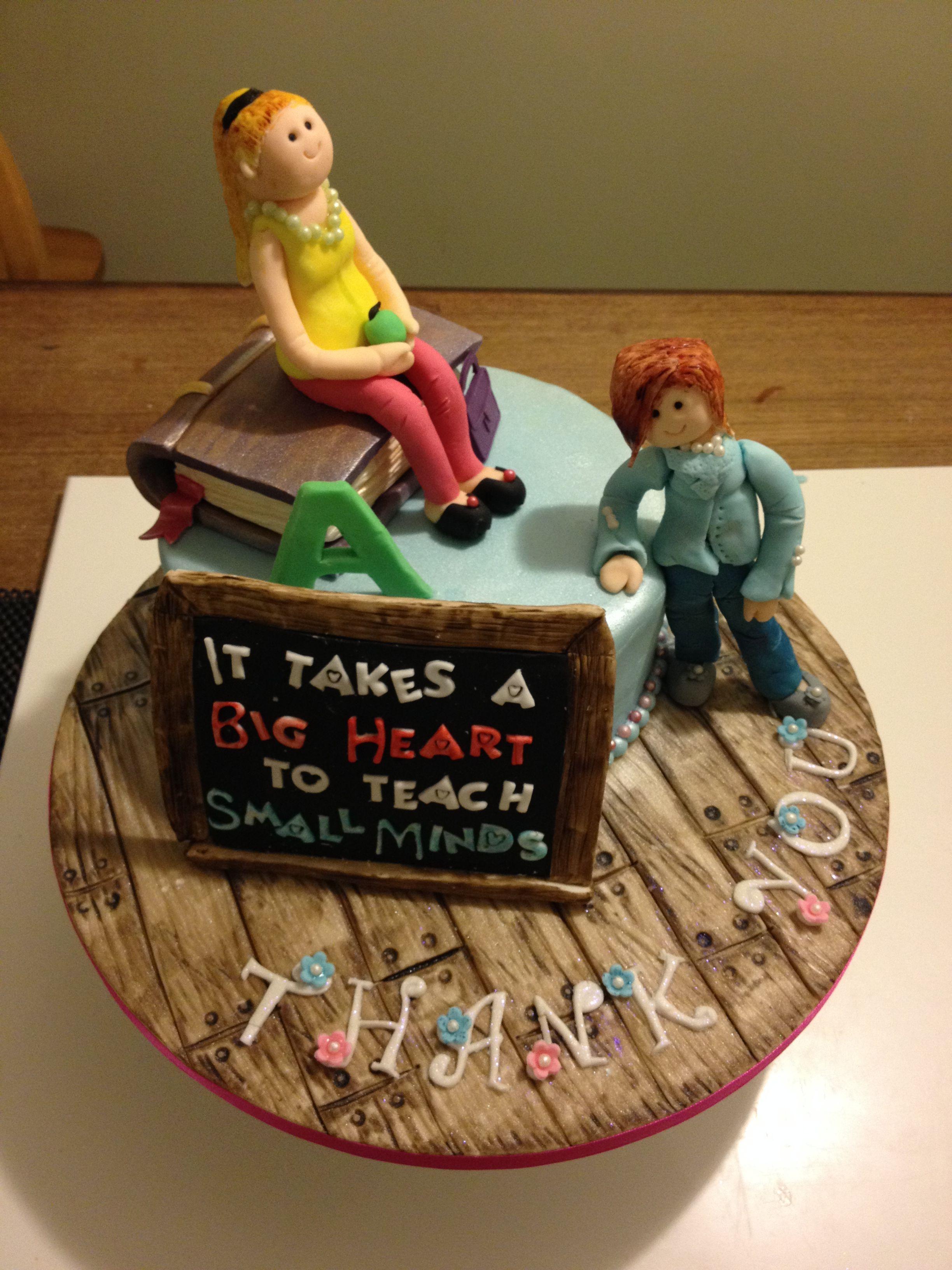 Thank You Teacher Cake Barbie Bakes Cakes Web