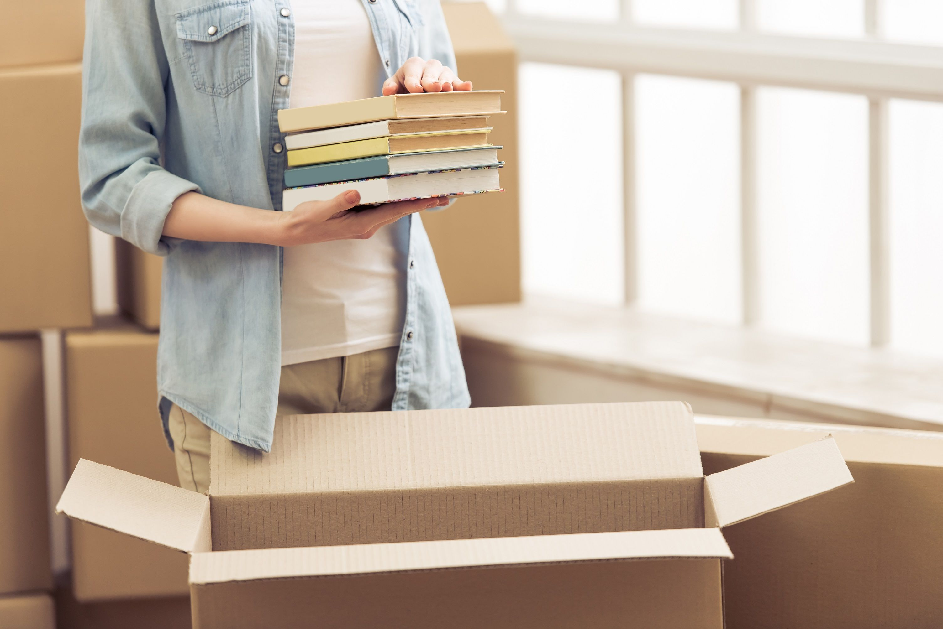The Best Way To Pack Books Moving And Storage University