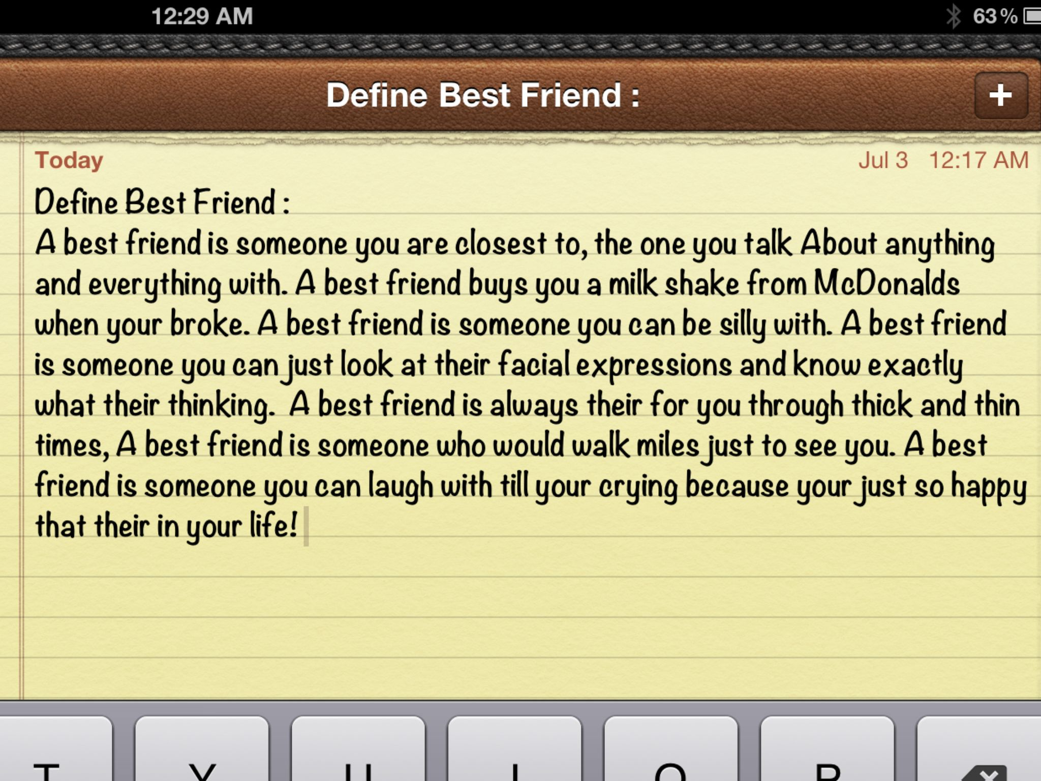 essay about describing a best friend My best friend we may be able to have a hundred or a thousand friends, or even more but there is only one friend who really has loyalty on you if you really think about it, that is best friend.