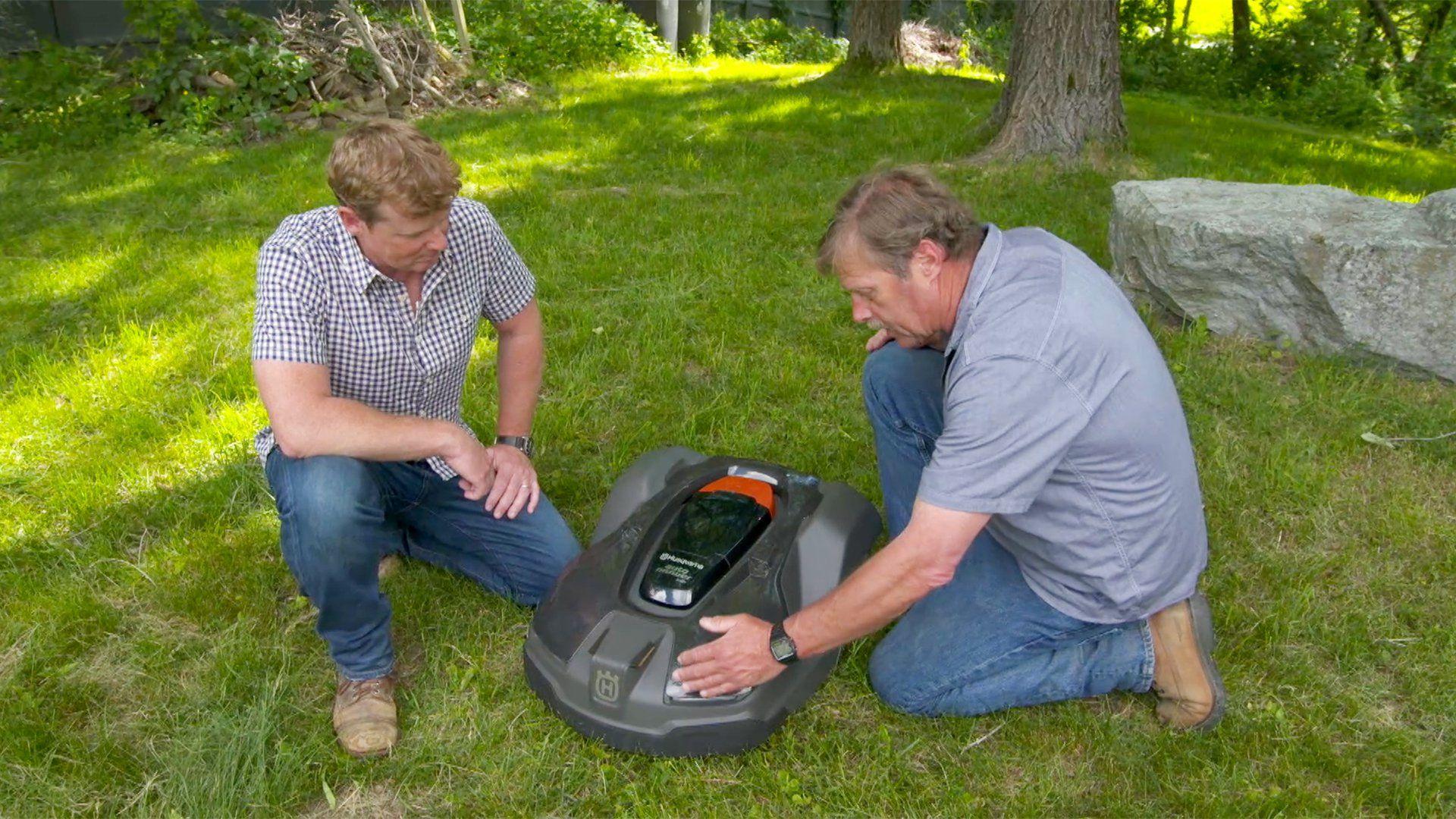 How to #Install a #Robotic #Lawnmower  #yesplease #handyman #handymatters #mowingsucks #gotgrass #lifehacks