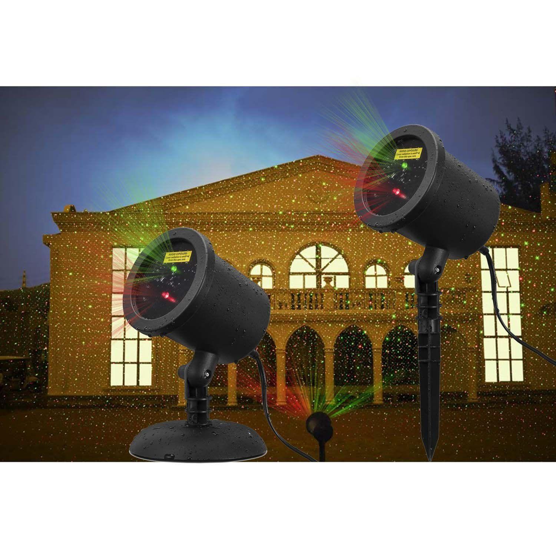 Https Www Amazon Com Coowoo Christmas Waterproof Projector Decoration Dp B01ab9cx86 Ref Sr 1 3 Ie Laser Christmas Lights Christmas Lights Christmas Landscape
