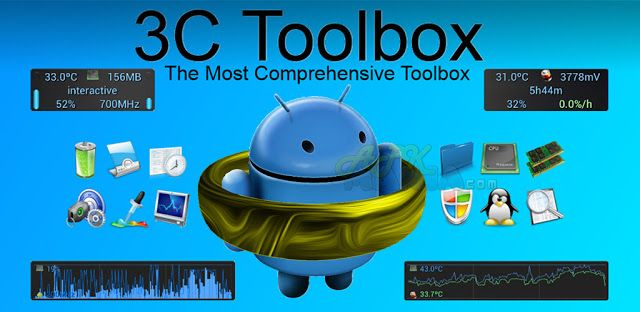 3C Toolbox Pro v1.6.10 APK Application android, Tool box