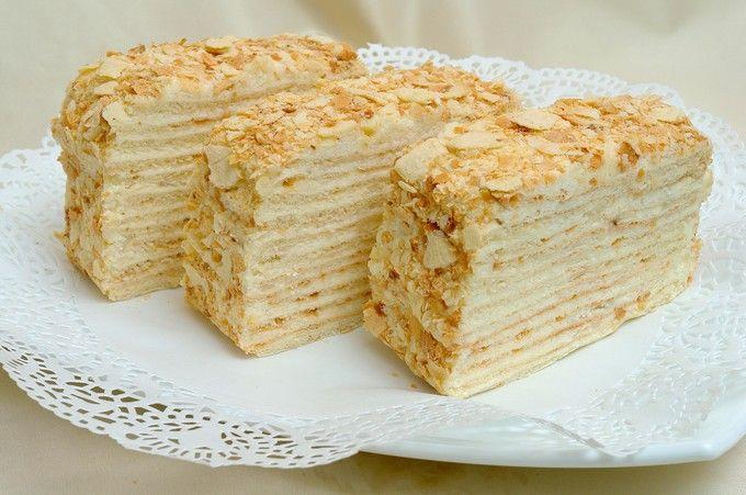 Рецепт начинки торта наполеон — 6
