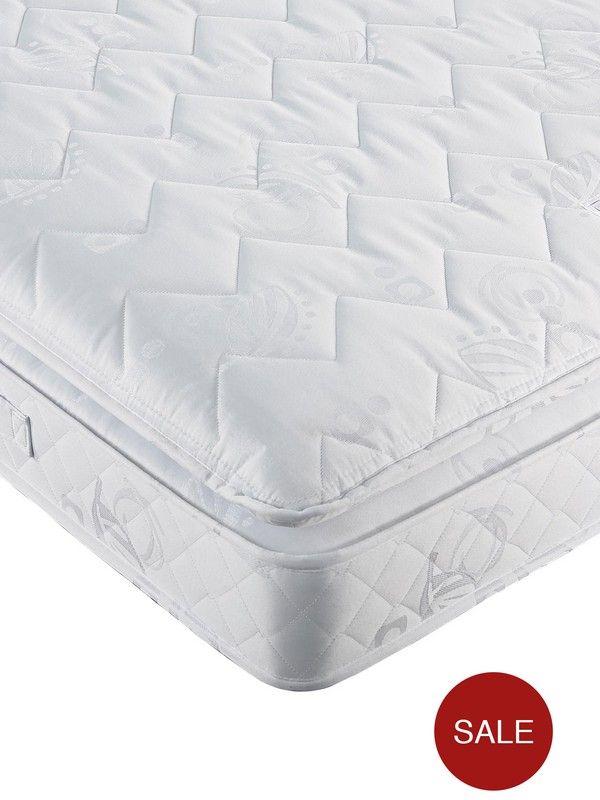 Airsprung Victoria Pillow Top Mattress Medium Firm Layla S Room