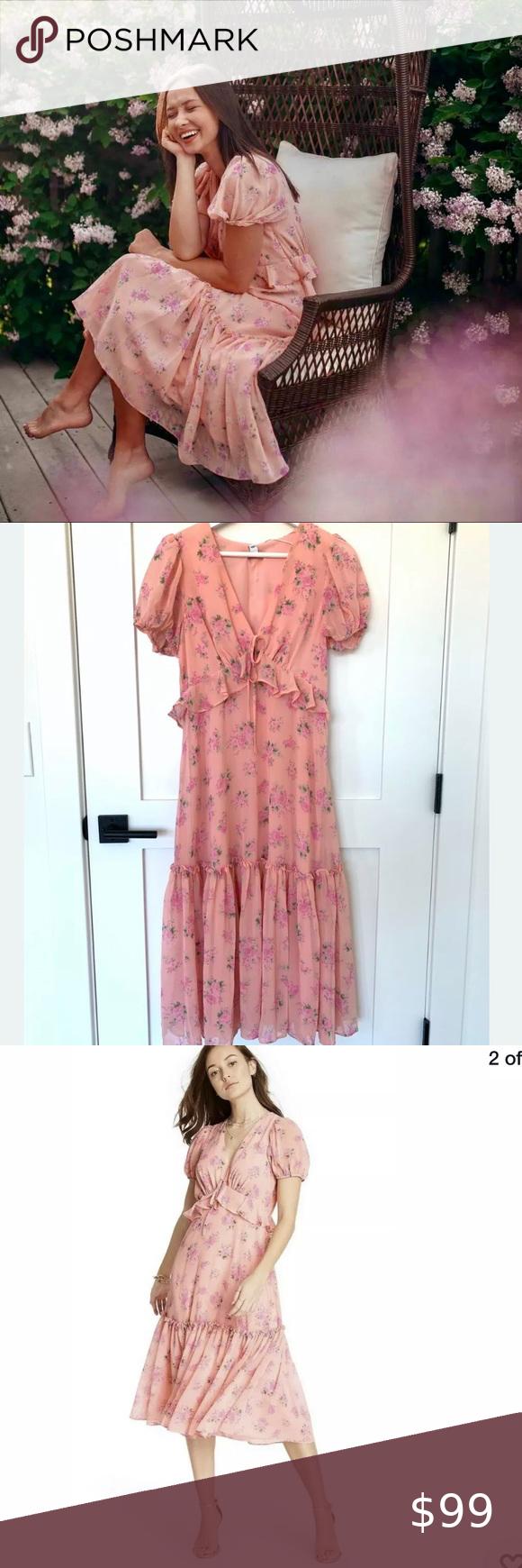 Loveshackfancy Fleur Dress Target Pink Size 4 S M Target Dresses Dresses Dress Gift [ 1740 x 580 Pixel ]