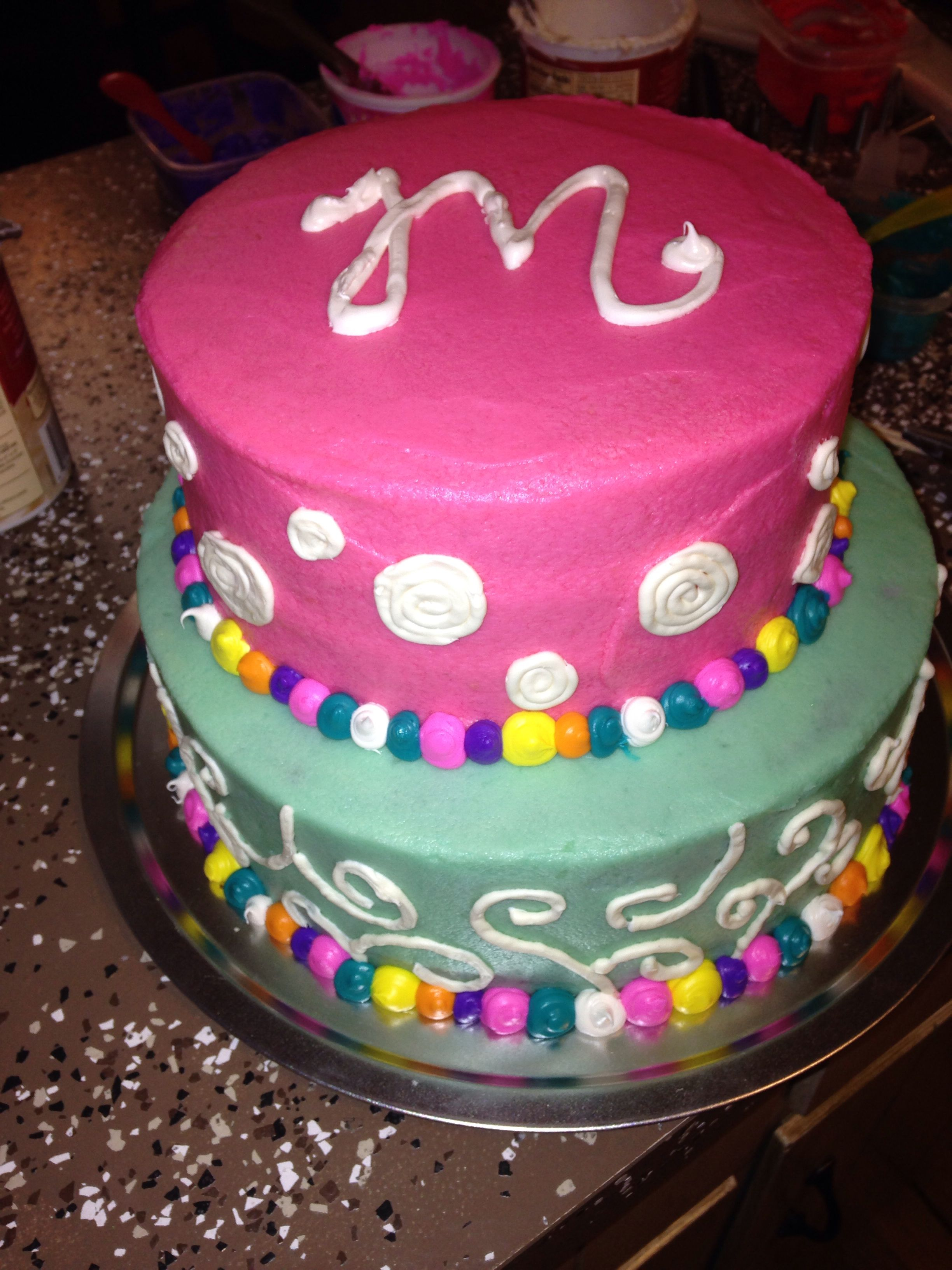 Maxine's 1st birthday cake