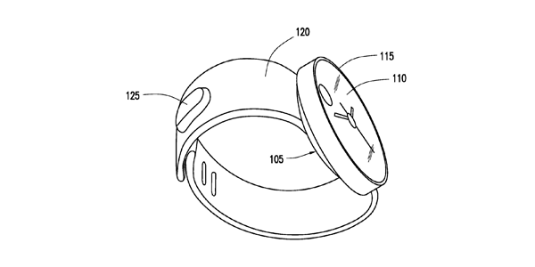 Samsung Files Patent For Circular Shaped Smartwatch