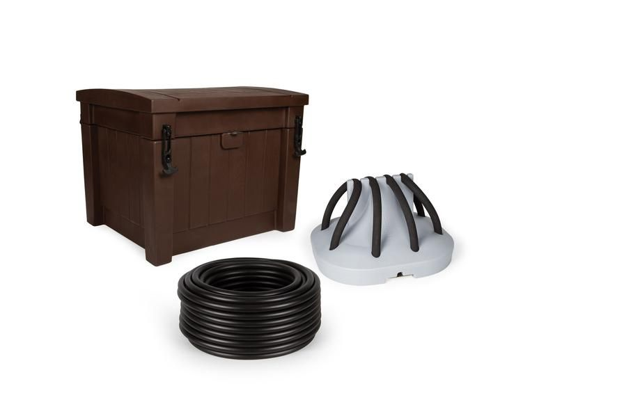 Atlantic water gardens deep water aeration system with 1