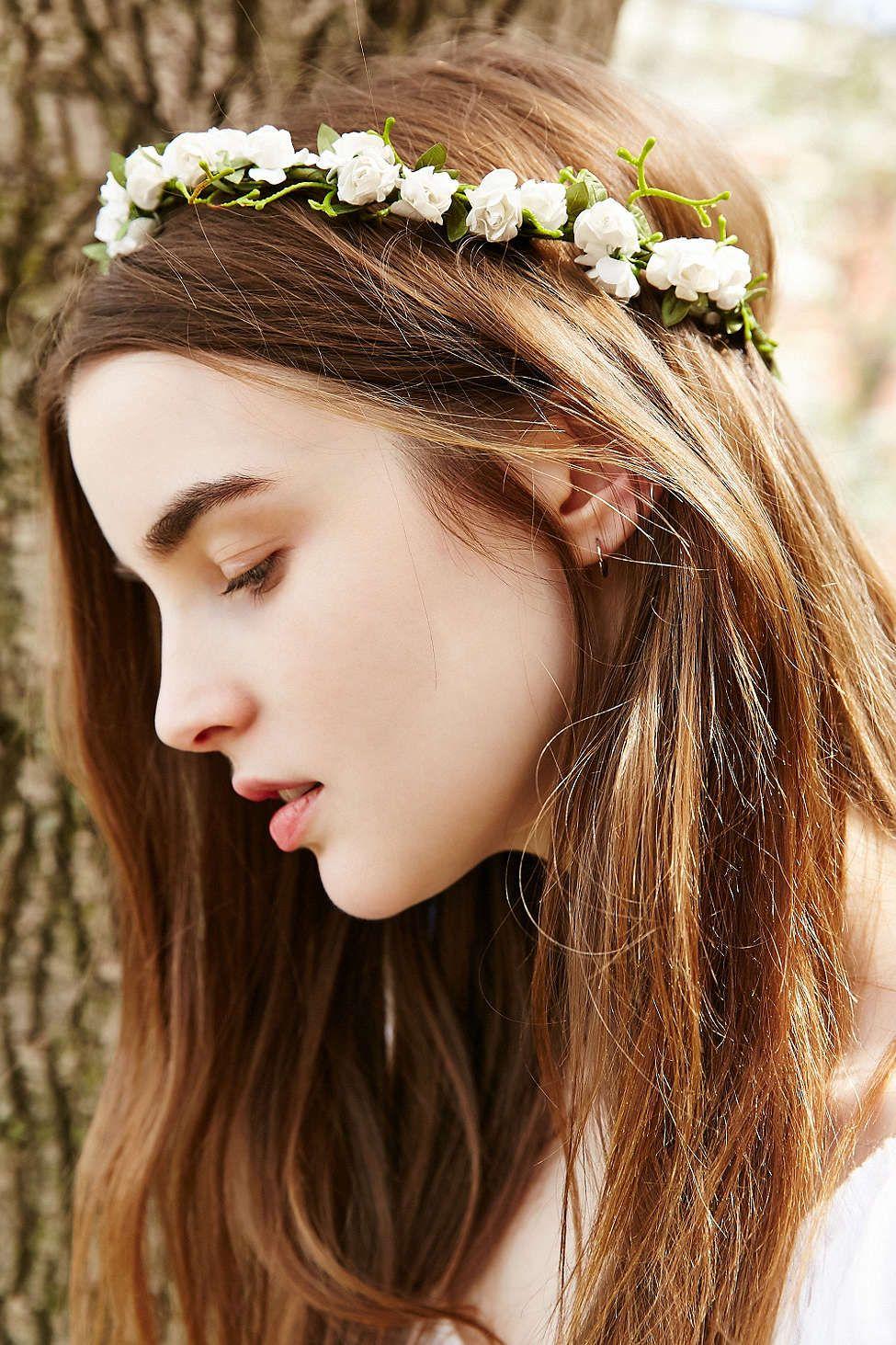 Grace Flower Crown Urban Outfitters Femme Pinterest Flower