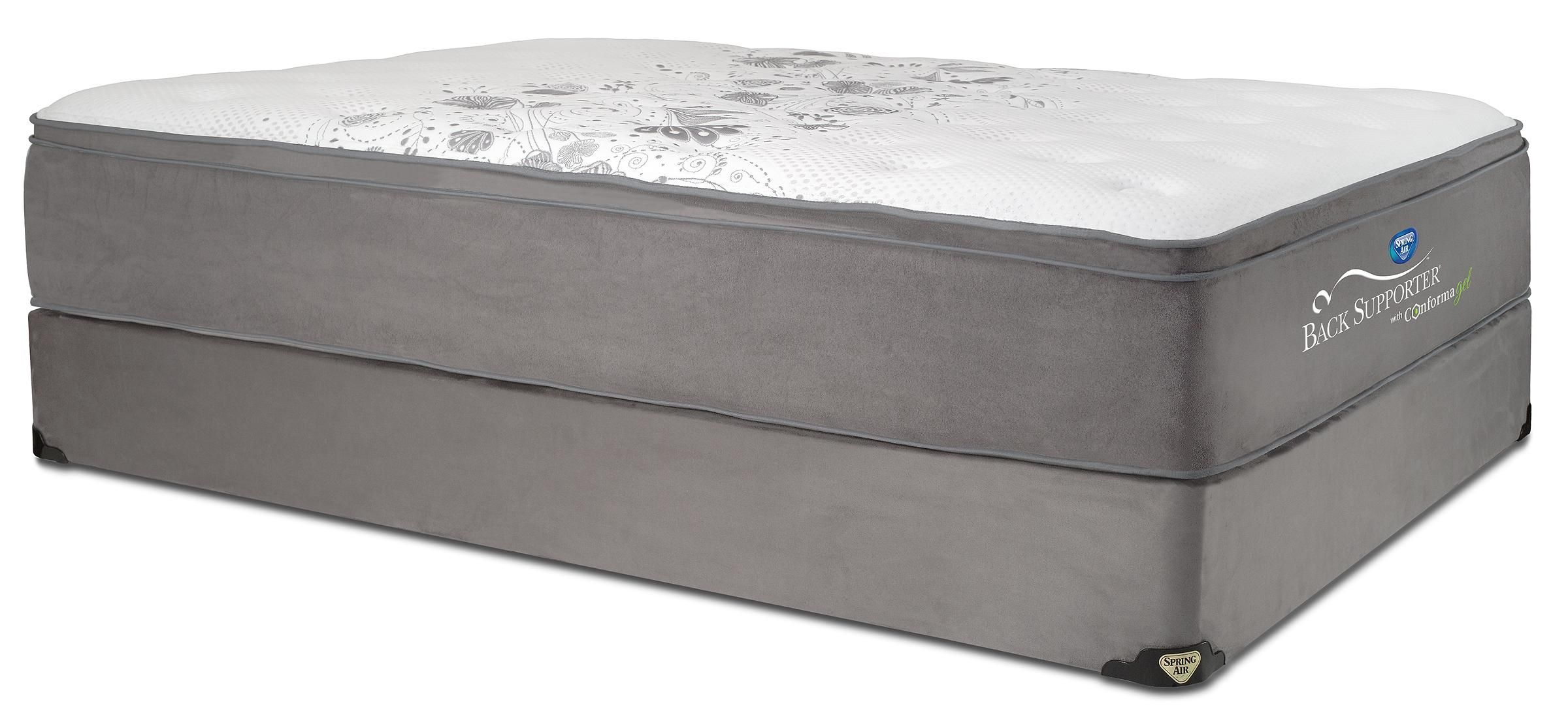 Back Supporter Presidential Queen Plush Hybrid Mattress By Spring Air