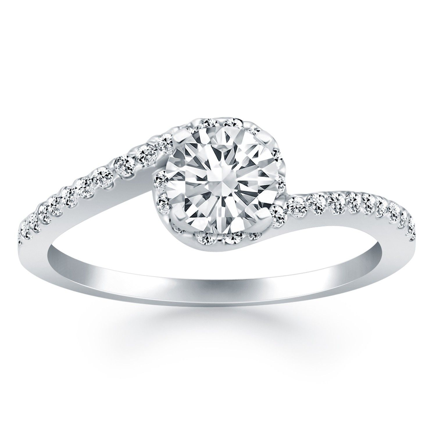 Love this, just want to wedding band to fit and look balanced. Wish there was a better pic!
