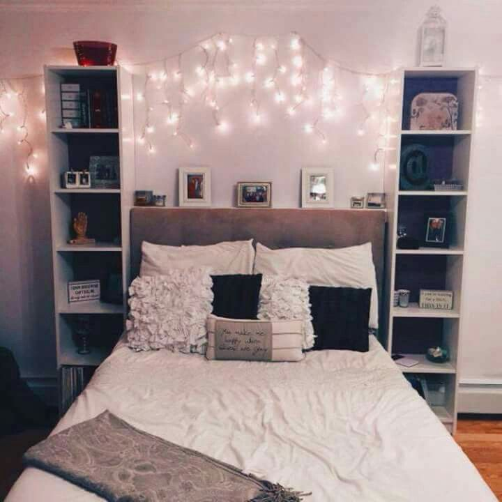Pin de ishara callis en rooms pinterest recamara for Cuartos de ninas con luces