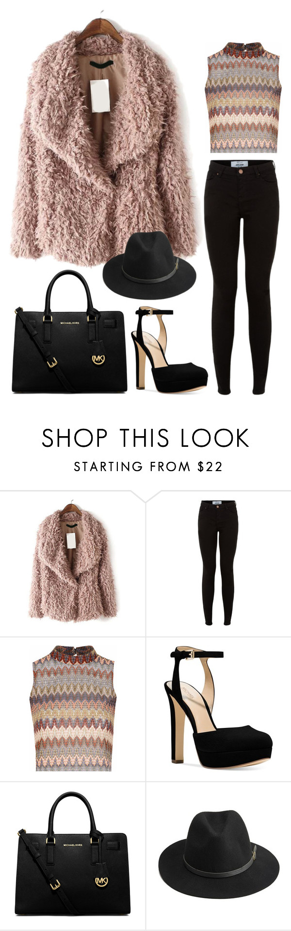 """""""The Fancy Woman"""" by vashappeninami ❤ liked on Polyvore featuring Glamorous, Michael Kors, MICHAEL Michael Kors, BeckSöndergaard, women's clothing, women's fashion, women, female, woman and misses"""