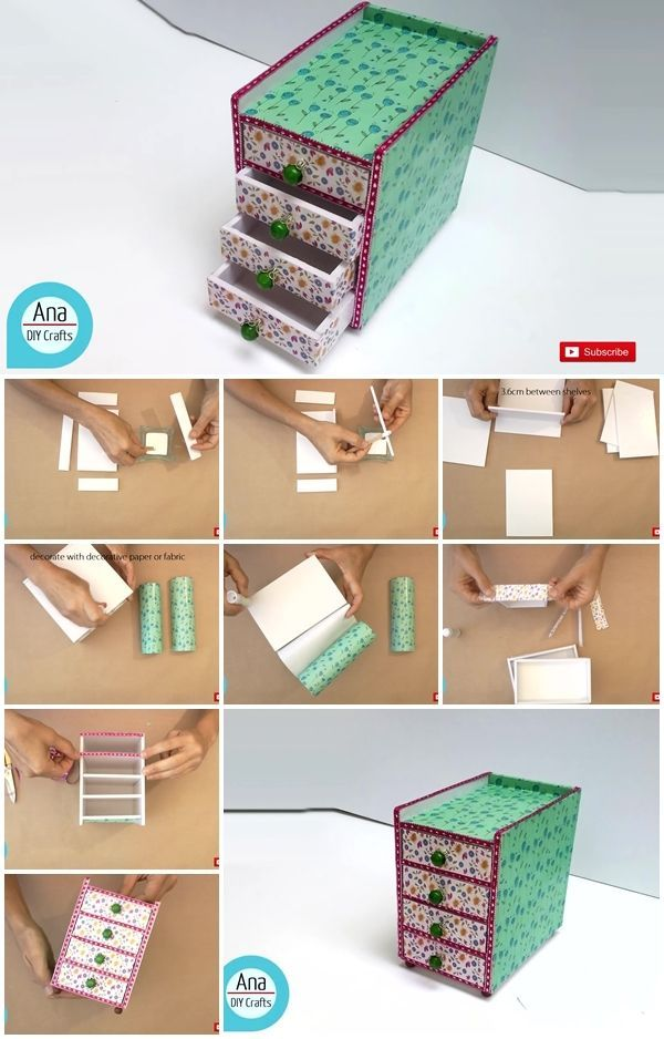 How To Make A Mini Desk Organizer In 2020 Desk Organization Diy
