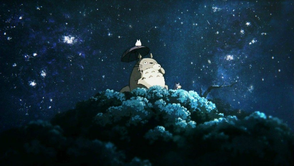 A Selection Of Totoro Backgrounds Wallpapers In Hd Anime Backgrounds Wallpapers Aesthetic Desktop Wallpaper Desktop Wallpaper Art