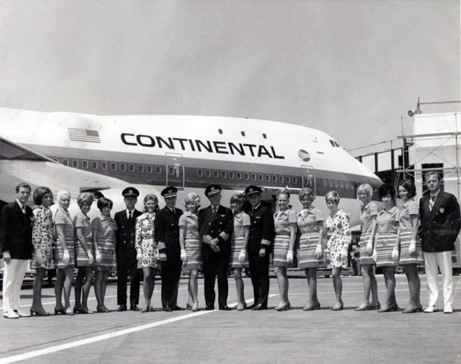 Pin by Валентина on Стюардессы Continental airlines