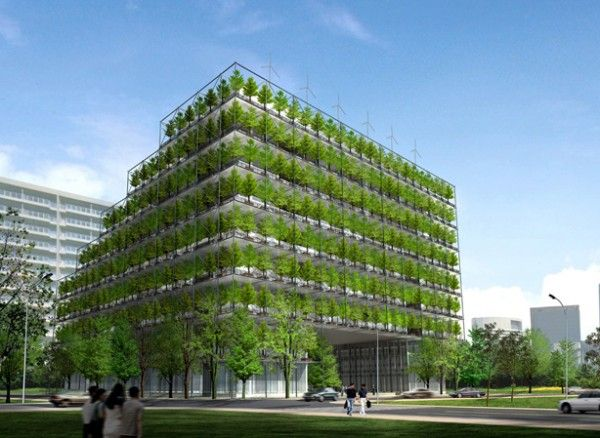 picture's of green smycrapers   Green Architecture Transforming the Built Environment is part of Green architecture -