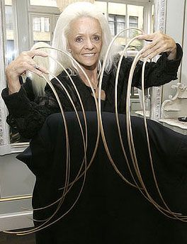 Longest Nails In The World Long Nails Extra Long Hair Long Fingernails