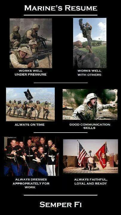 USMC--Thank you for your service because the civilian world doesn\u0027t