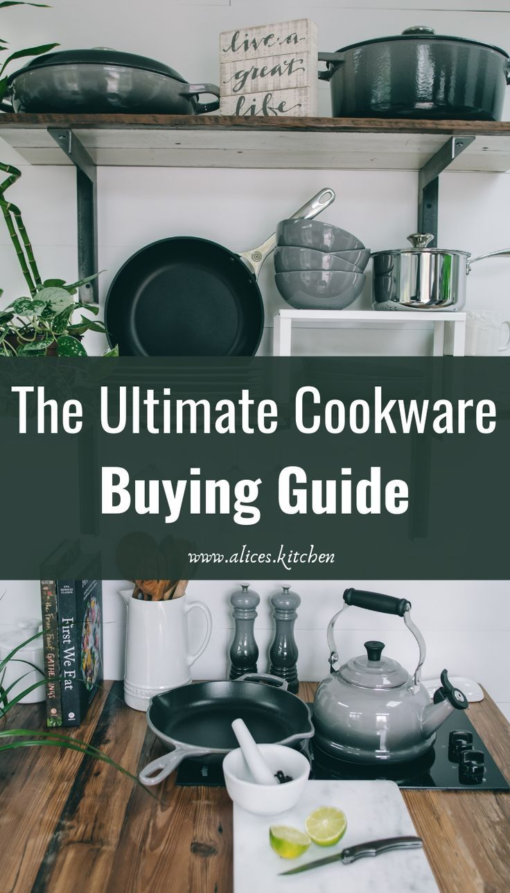 Before you set out to find new cookware, there are some