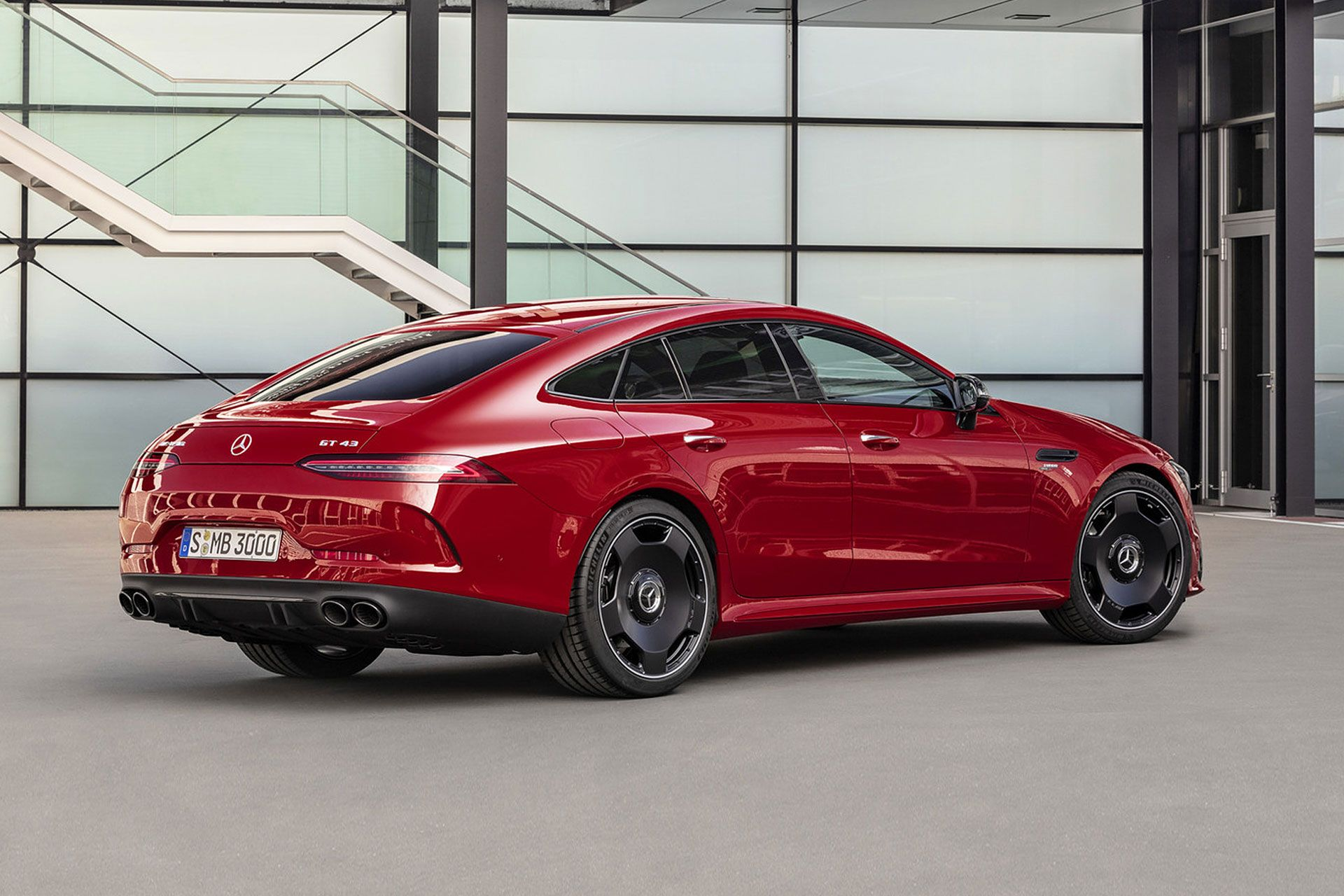 Mercedes Amg Gt 43 4 Door Coupe With Images New Mercedes Amg