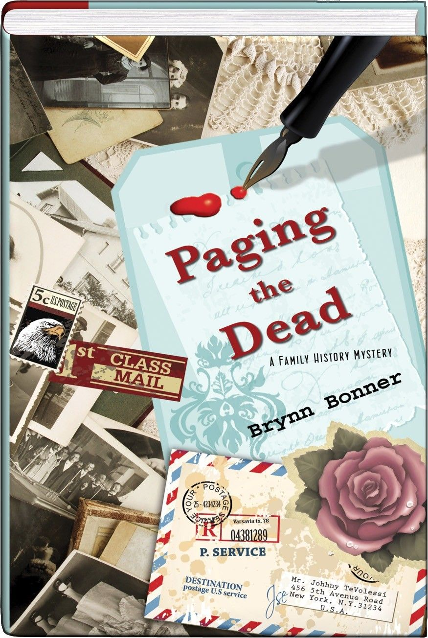 pp Paging the Dead - Brynn Bonner debuts a new series of scrapbooking-themed cozies that's bound to become a favorite! When she's not researching family histories, professional genealogist Sophie McClure teaches families how to create their own archival scrapbooks. She has a bitof an edge on the competition, because her business partner, Esme Sabatier, is a medium who's attuned to discovering facts that might otherwise have been lost to time. But these scrapbookers get themselves into a…