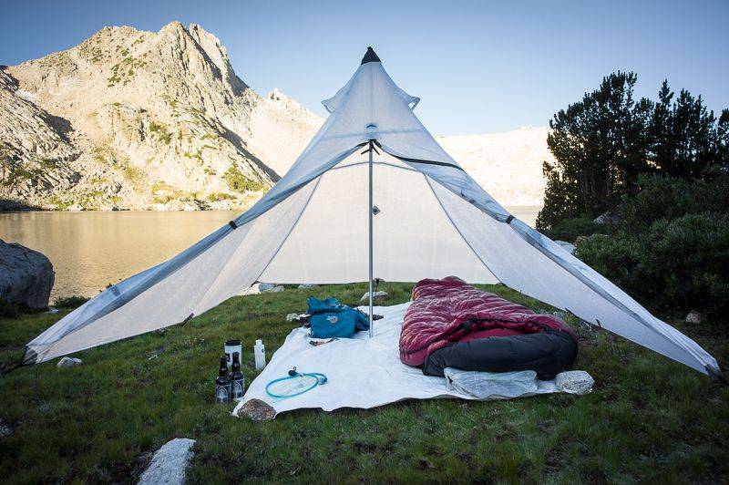A Palace for One. Hyperlite Mountain Gear Ultramid 2