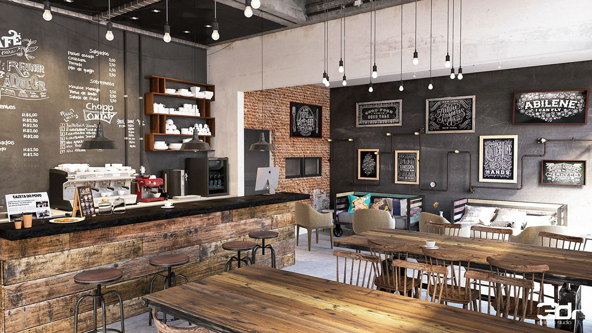 Coffee Shop Design Ideas - The plan is coffee-inspired. Brief and easy  design is required while developing a logo. There's some amazing design out  the.