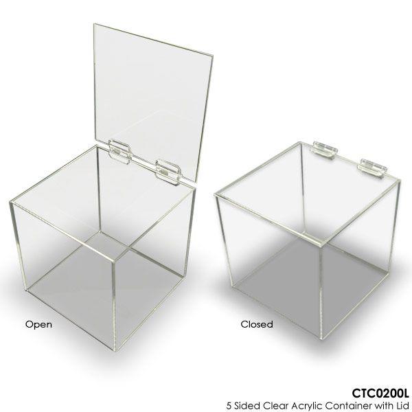 Clear Heart Design Square Presentation Stand