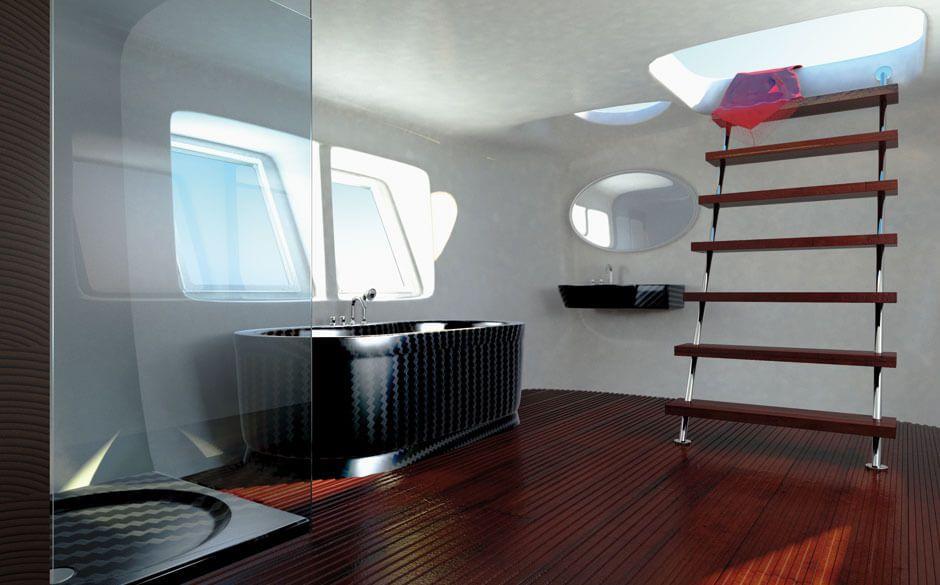 Carbon Badewanne Luxurioser High Tech Im Badezimmer Spadesign