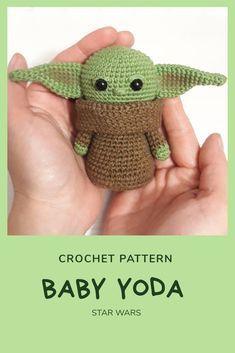PATTERN Baby Alien Crochet Amigurumi Pattern. Croc