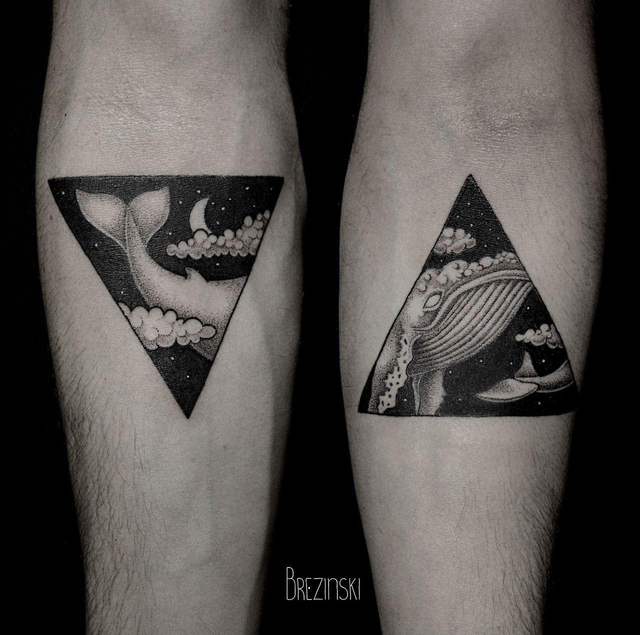 Stipple Tattoos By Ilya Brezinski 타투 Pinterest Stippling - Surreal black ink tattoos by ilya brezinski